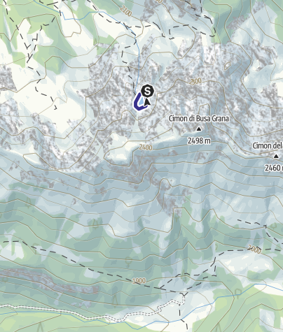 Karte / Lago Forame G