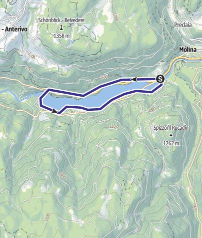Mappa / Lago Stramentizzo H