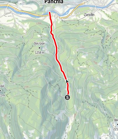 Map / Rio Cavelonte B