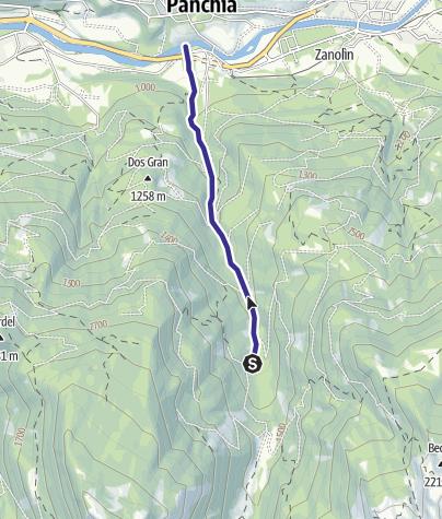 Karte / Rio Cavelonte B