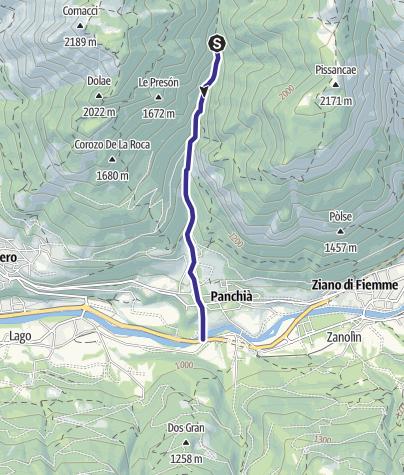 Cartina / Rio Bianco C