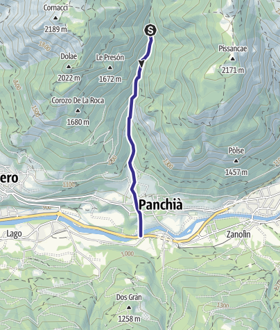 Karte / Rio Bianco C