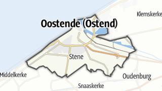 Cartina / Oostende