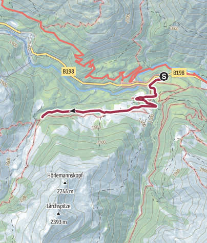 Karte / Bockbacher Almwirtschaft