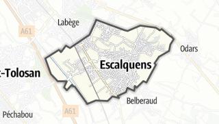 Térkép / Escalquens