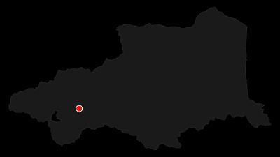 Carte / Du Train Jaune à la Citadelle de Mont-Louis / PR4