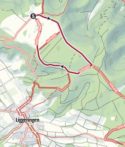Karte / Muckeseckele-Runde