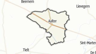 Kartta / Aalter