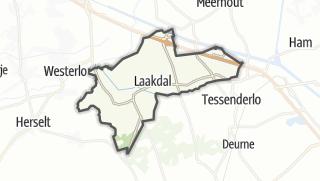Hartă / Laakdal