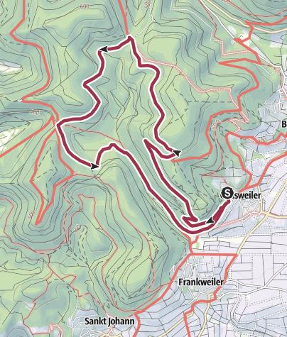 Karte / Gleisweiler - Eichhörnchenweg