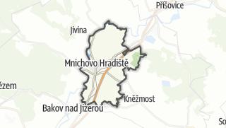 מפה / Mnichovo Hradiště