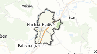 Karte / Mnichovo Hradiště