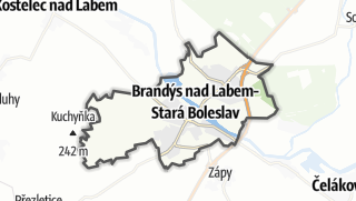 Karte / Brandýs nad Labem-Stará Boleslav