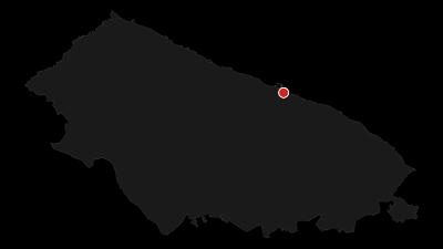 Cartina / Ciclovia dei Borboni - Da Bari a Napoli