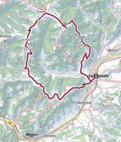 Karte / Escholzmatt - Turner