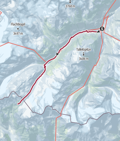 Map /  Bus to Vent and walk to Bellavista Hut