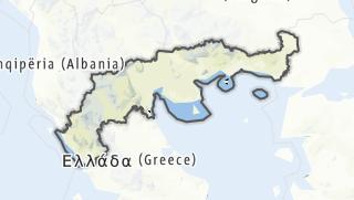 Mapa / Nordgriechenland