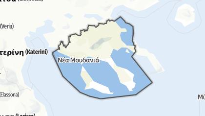 Hartă / Chalkidiki