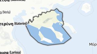 Mapa / Chalkidiki