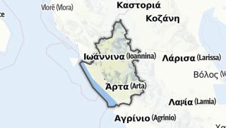Mapa / Epirus
