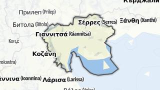 Map / Central Macedonia