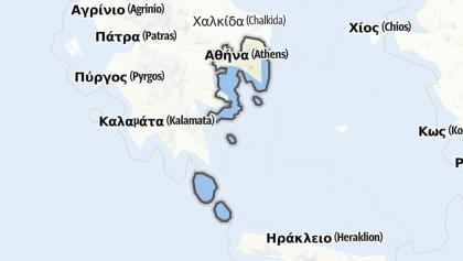 Mapa / Attica