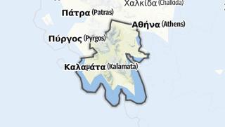 地图 / Peloponnes