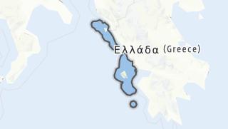 地图 / Ionian Islands