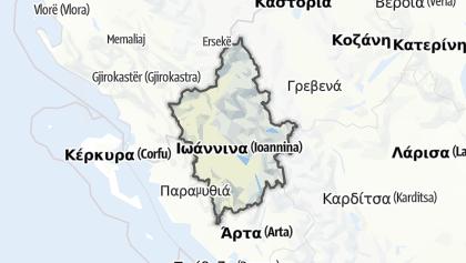 Hartă / Ioannina