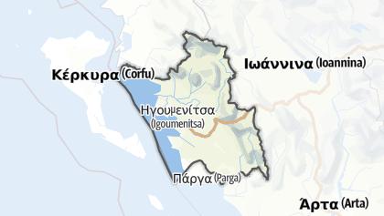 Mapa / Thesprotia