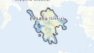 Karte / Zentralgriechenland