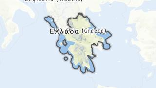 Mapa / Zentralgriechenland