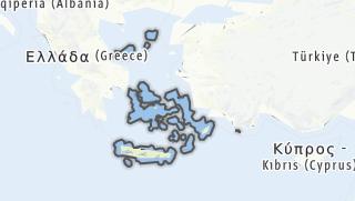 Karte / Ägaische Inseln, Kreta