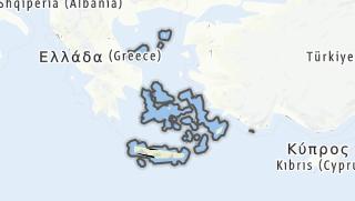 Map / Ägaische Inseln, Kreta