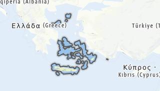 地图 / Ägaische Inseln, Kreta