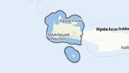Térkép / Chania