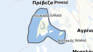 Mapa / Lefkada