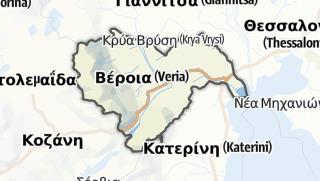 Mapa / Imathia