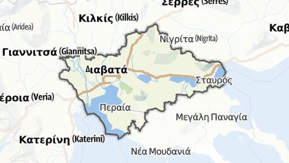 Mapa / Thessaloniki