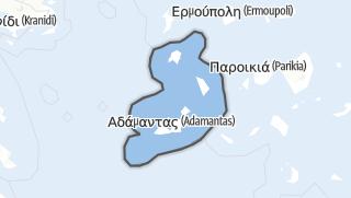 Mapa / Milos