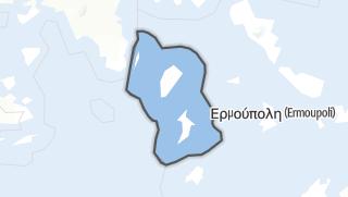 Mapa / Kea-Kythnos