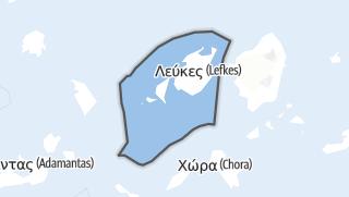 Mapa / Paros