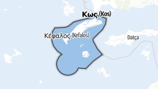 Mapa / Kos