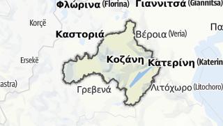 Карта / Kozani