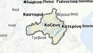 Kartta / Kozani