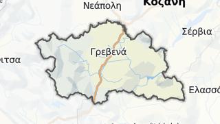 Kartta / Grevena