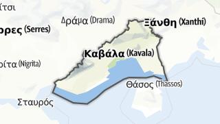 Hartă / Kavala