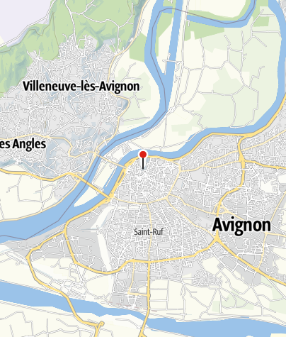 Map / Why is there a papal palace in Avignon?