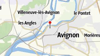 Karte / Warum steht eigentlich ein Papstpalast in Avignon?