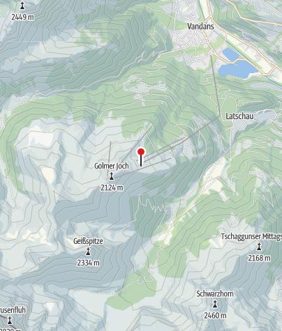 Karte / Berghof Golm